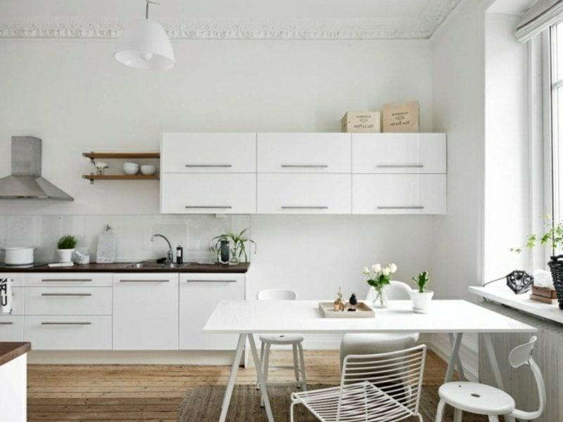 skandinavische Möbel Küche moderner Look