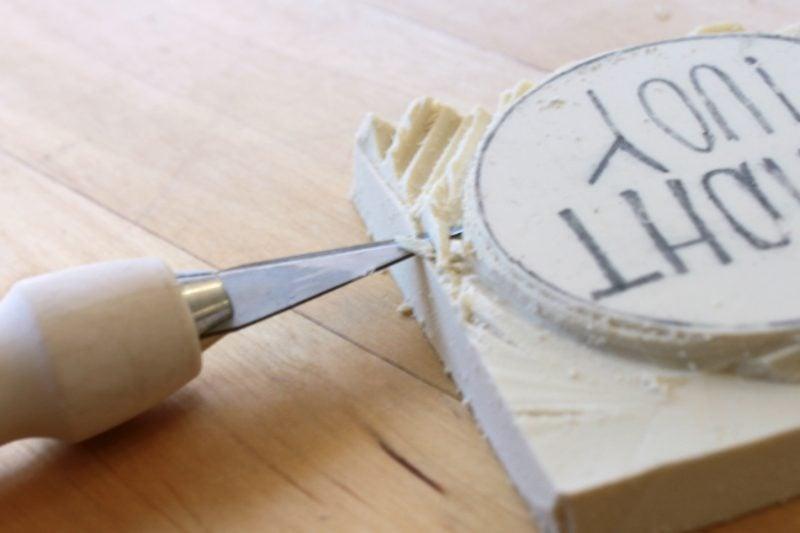 die g nstigste deko art stempel selber machen 3 anleitungen diy zenideen. Black Bedroom Furniture Sets. Home Design Ideas