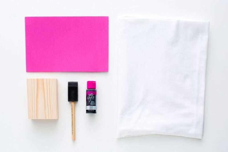 Stempel selber machen DIY Anleitung die Materialien