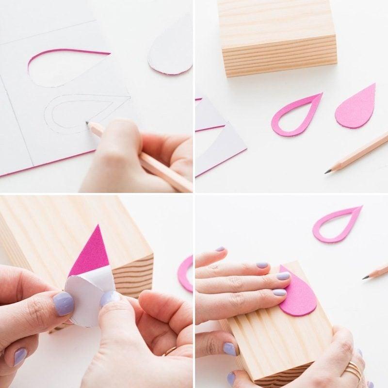 Stempel selber machen DIY Anleitung