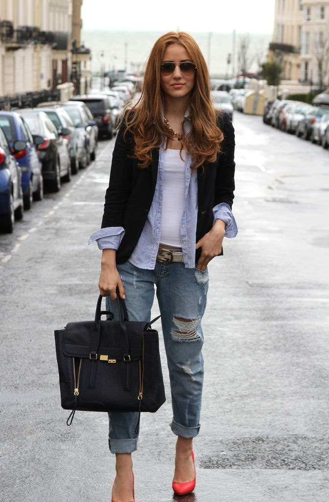 Stylish T Shirt Kombinieren 15 Outfits Mit Pfiff Mode Trends Zenideen