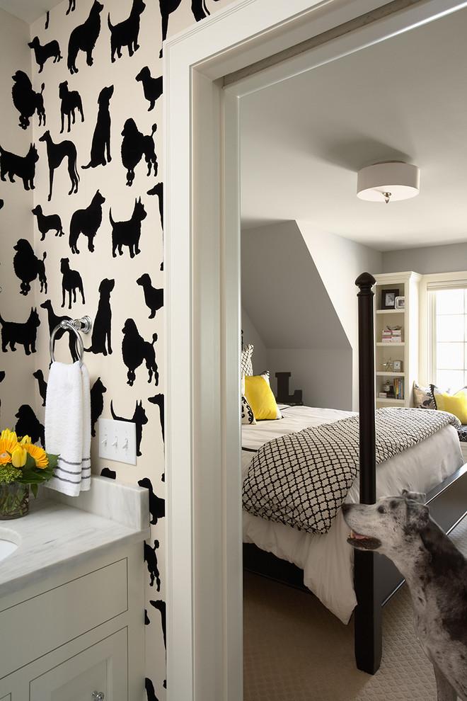 Verleihen Sie einen individuellen Hauch Ihrer Wohnung wenn Sie Ihre Tapete selber gestalten
