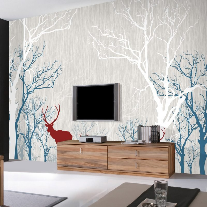diy tapezieren tapete selber gestalten und kleben diy trends zenideen. Black Bedroom Furniture Sets. Home Design Ideas