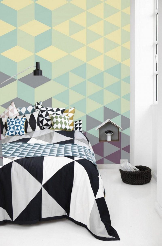 Verleihen Sie Einen Individuellen Hauch Ihrer Wohnung Wenn Ihre Tapete Selber Gestalten