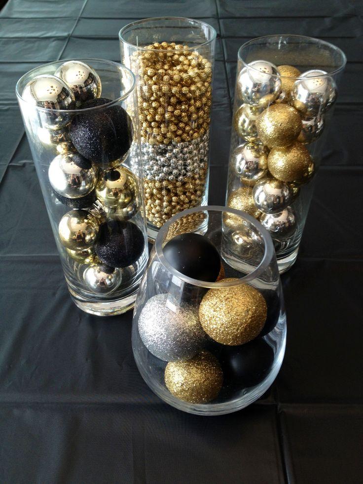 Silvesterparty Dekoration: festlich den Tisch eindecken und wunderschöne Dekoration selber machen