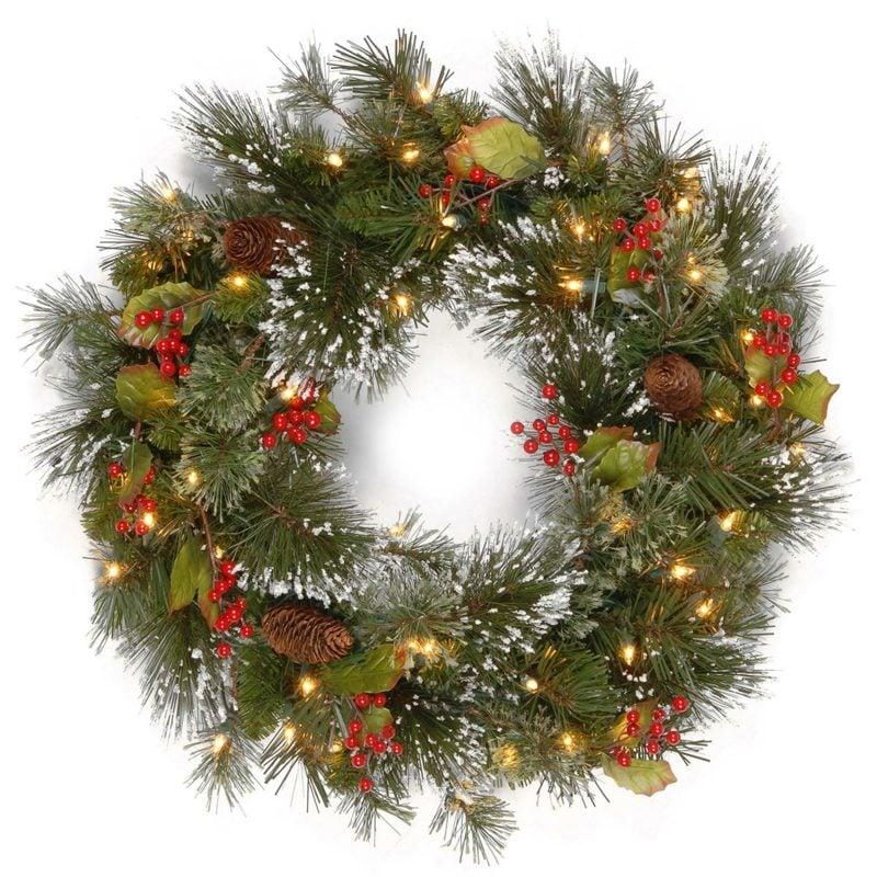 tuerkranz zu weihnachten