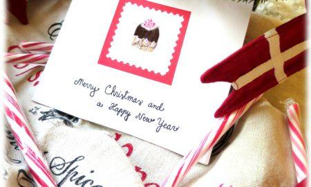 Weihnachtskarten selber basteln und gestalten