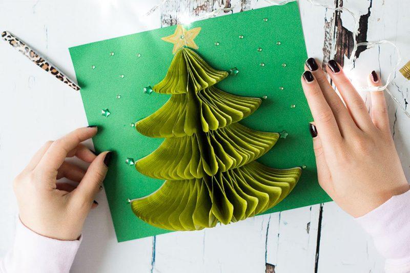 Weihnachtskarten basteln - DIY Anleitung und Ideen