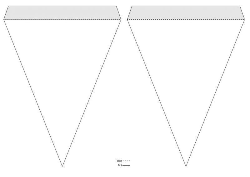 wimpelkette selber machen diy anleitung 5 vorlagen kostenlos diy zenideen. Black Bedroom Furniture Sets. Home Design Ideas