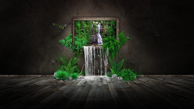 3d hd hintergrund bilder pflanzen abstarkte coole wallpaper