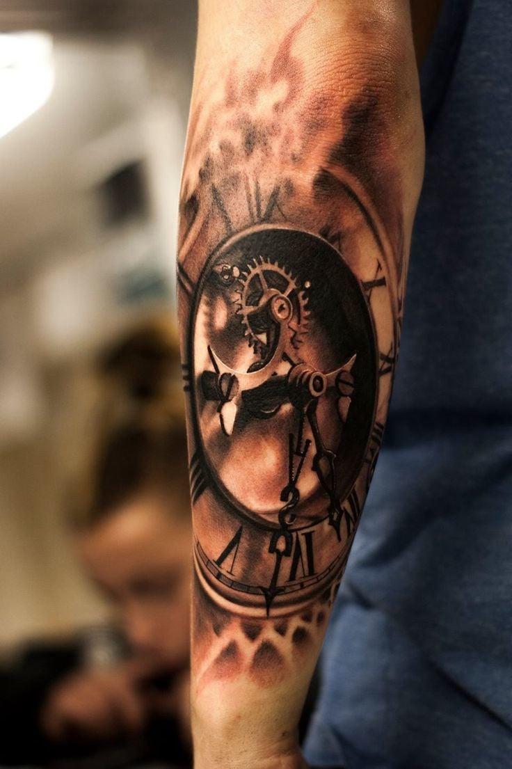 3d tattoo ideen arm männer tattoos männer ärmel