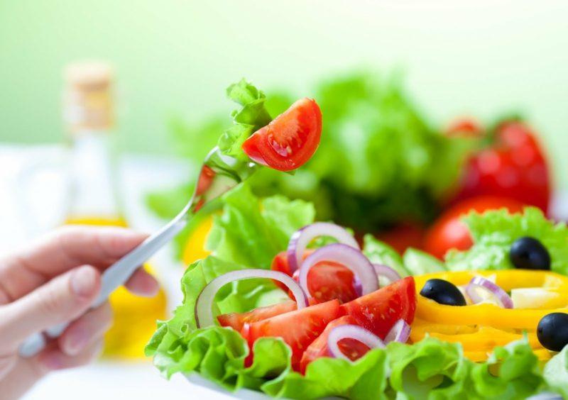 Ernährungsregime Salat schnell Abnehmen