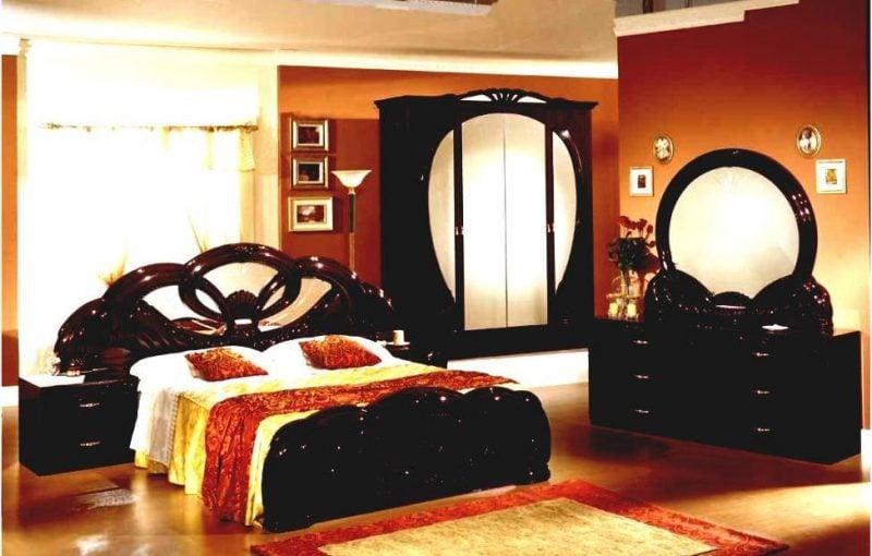 Asiatische Möbel: Schlafzimmer
