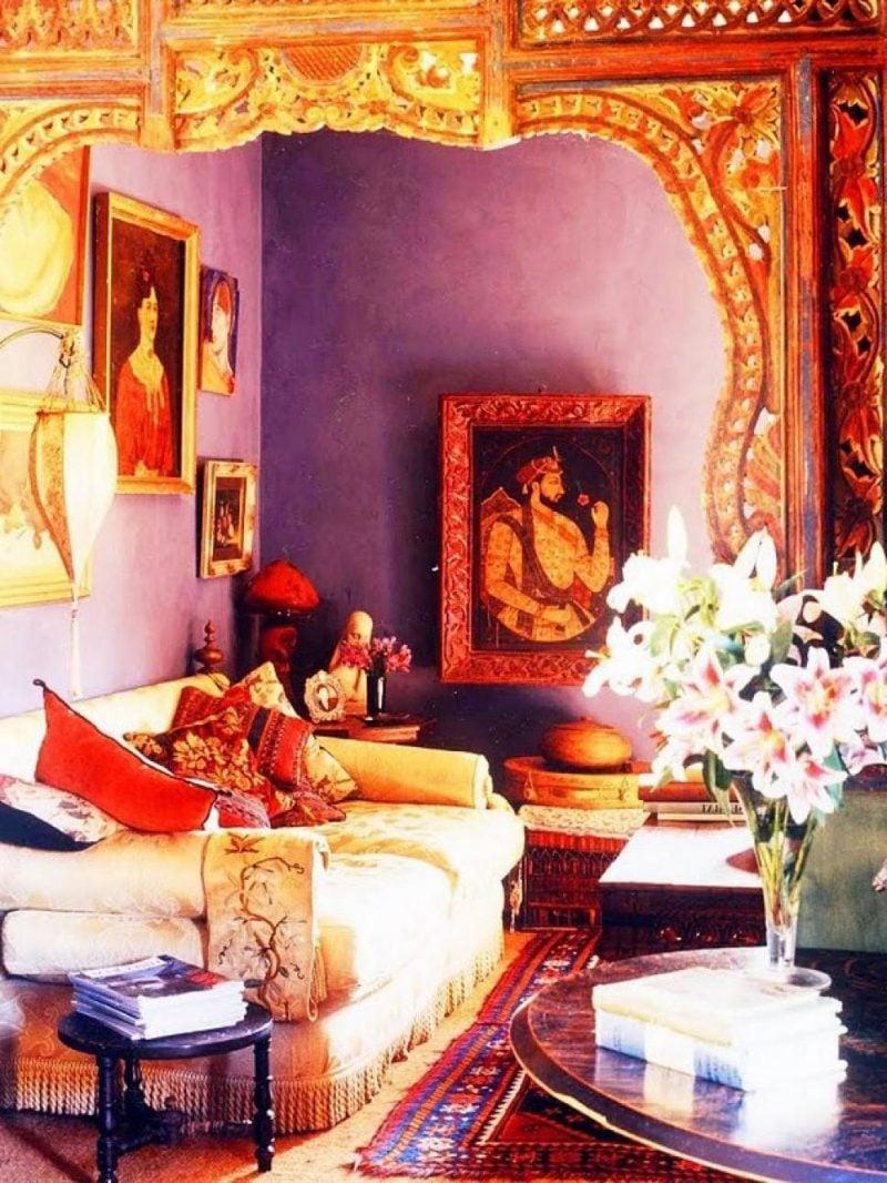 Asiatische Möbel: indischer Stil