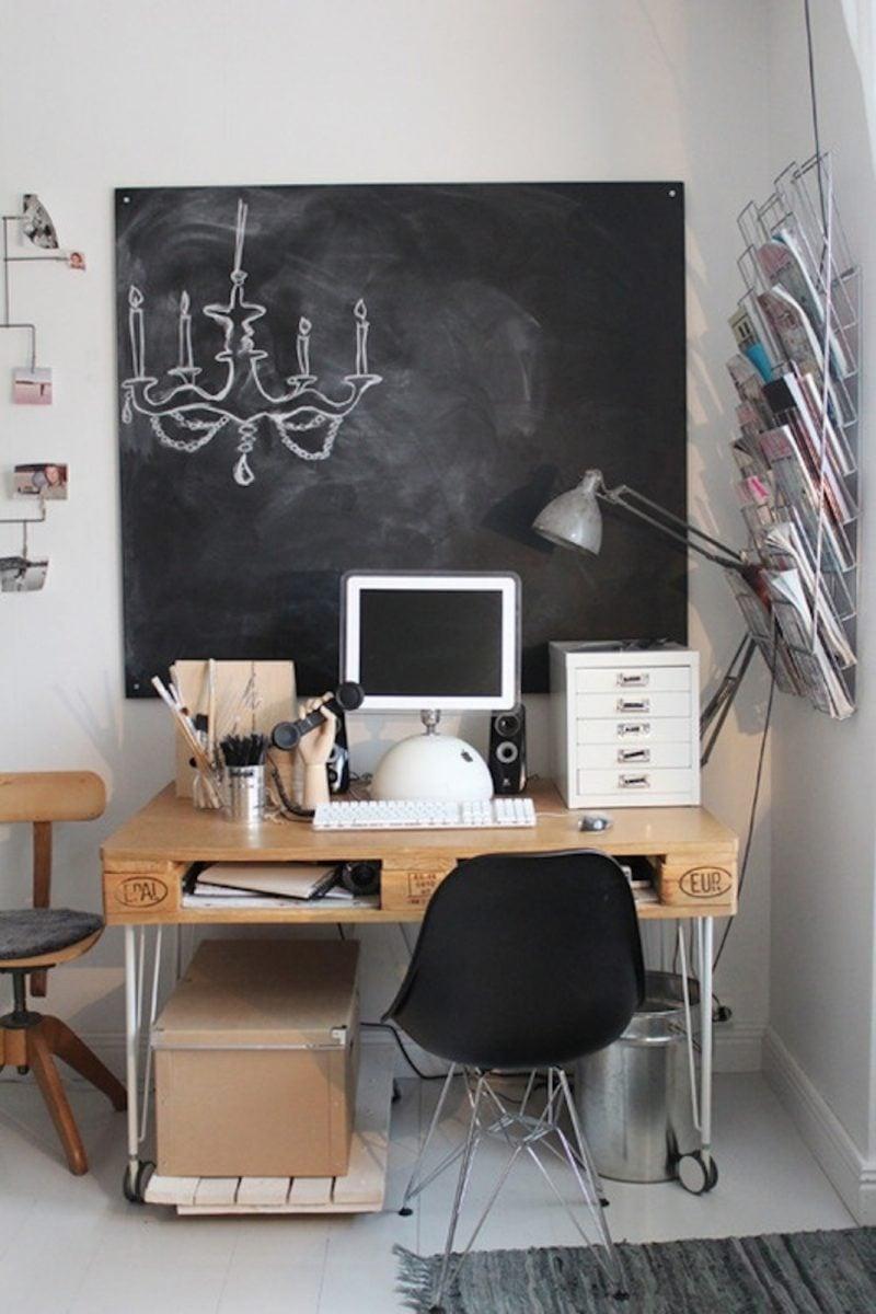 Büromöbel aus paletten palettenmöbel