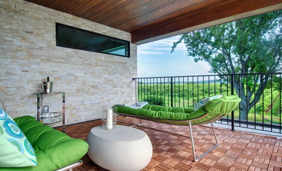 Balkonbelag sollte Wohnlichkeit vermitteln