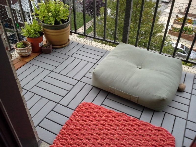 Balkonbelag: Die Variantenfielfalt