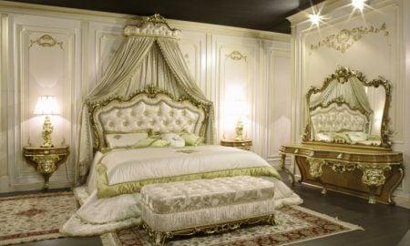 Schlafzimmer einrichten Barock Stil einzigartiger Look