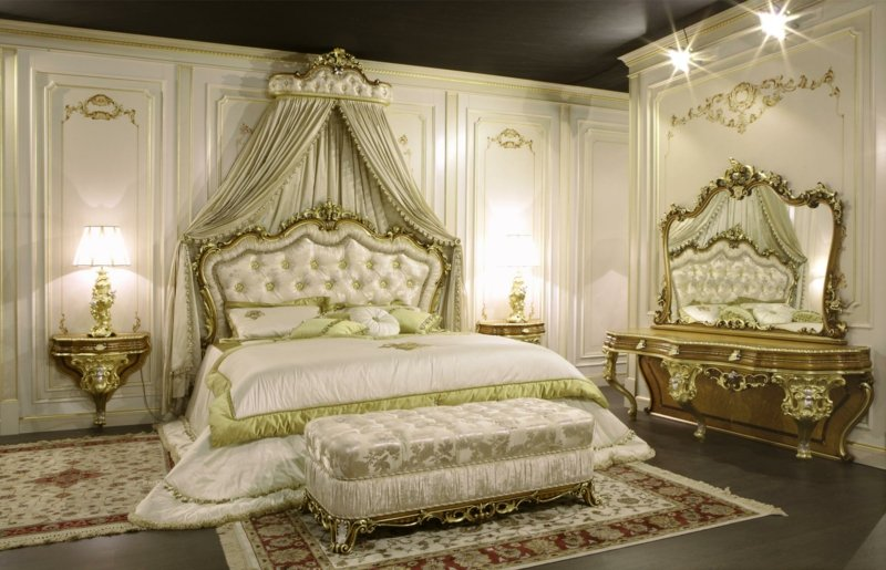 schlafzimmer barock stil inspiration design raum und m bel f r ihre wohnkultur. Black Bedroom Furniture Sets. Home Design Ideas