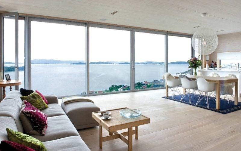 Bodentiefe Fenster: Räume werden größer
