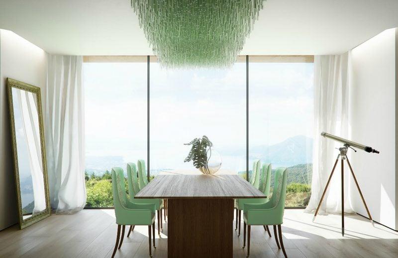 Bodentiefe Fenster: Weiße Gardinen für stilvolles Ambiente