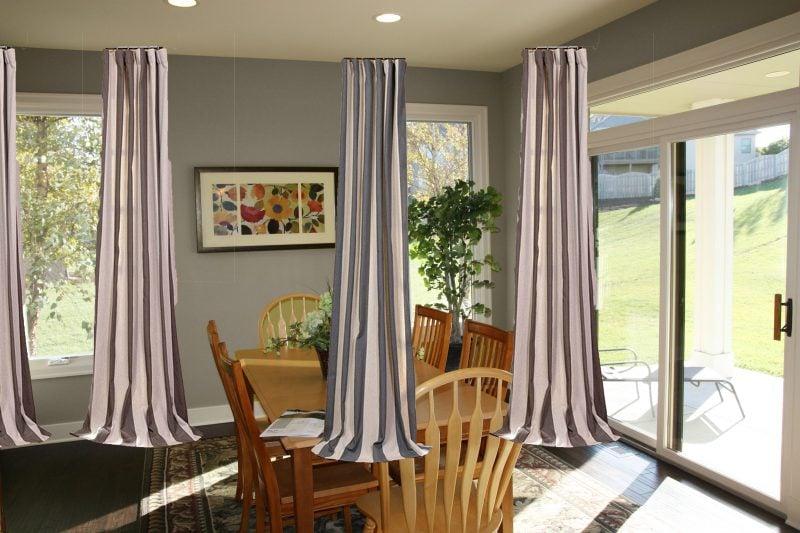 Bodentiefe Fenster: Welche ist die beste Sonnenschutz-Lösung