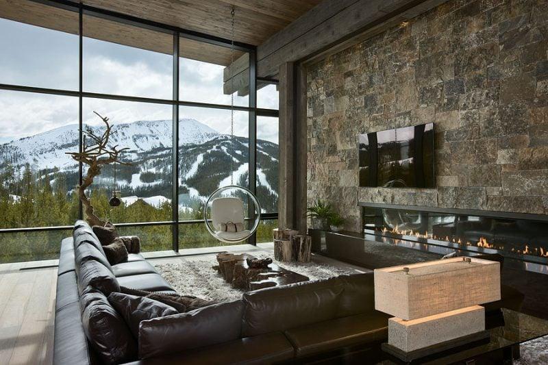 Bodentiefe Fenster bedeuten Stil
