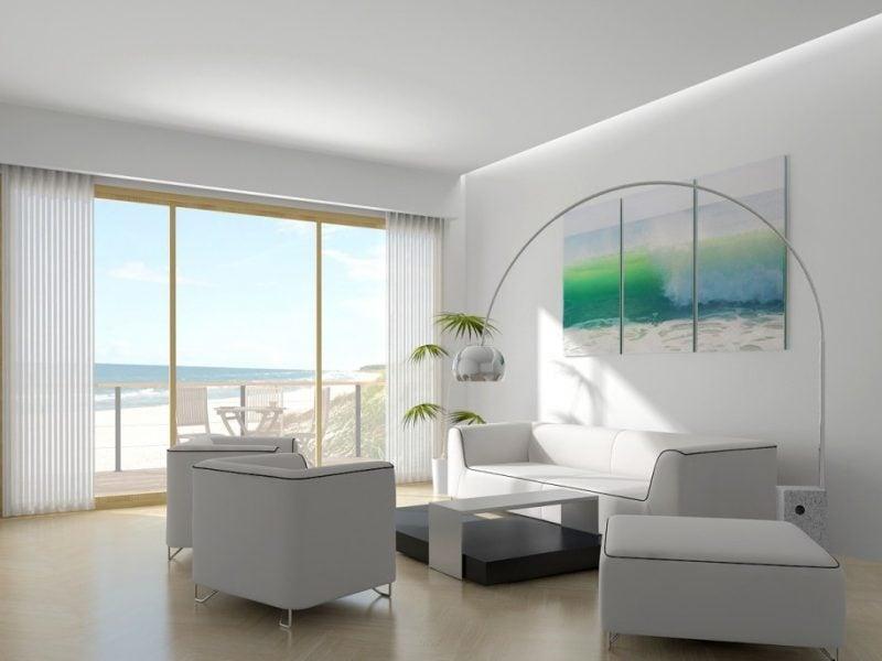 Bodentiefe Fenster fügen sich perfekt in jeden Wohnstil ein