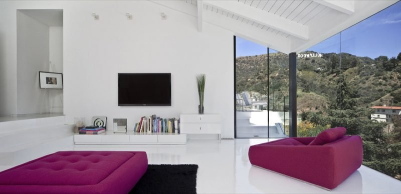 Bodentiefe Fenster für das Wohnzimmer