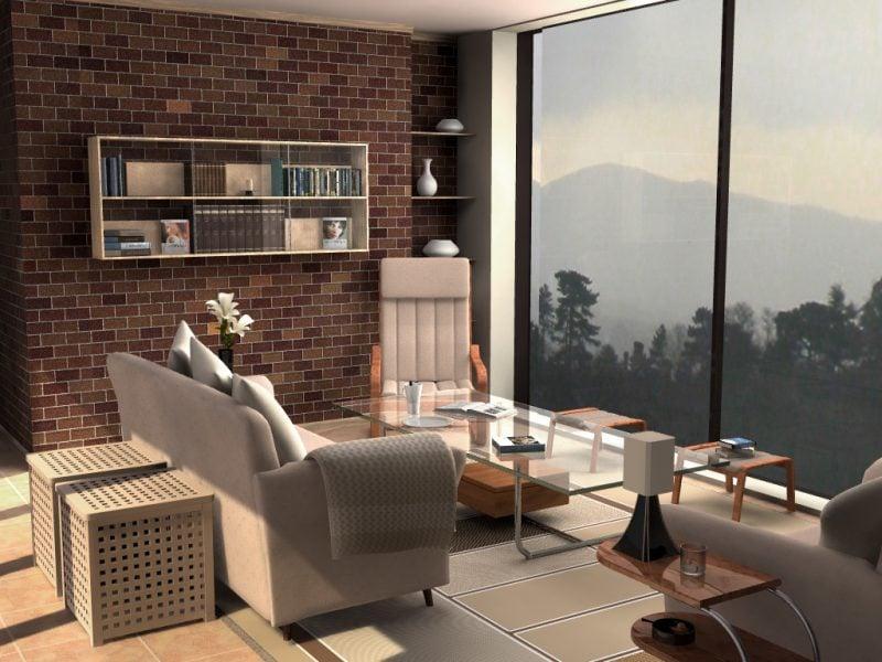 Bodentiefe Fenster für großzügige Räume