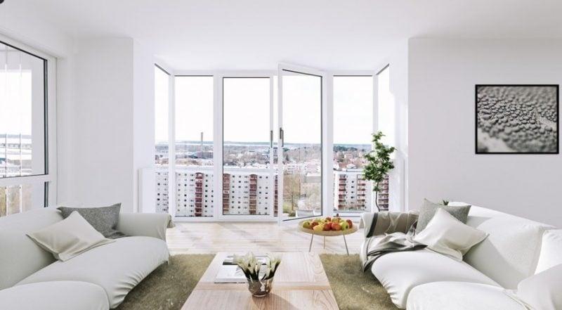 Bodentiefe Fenster verschönern Ihr Zuhause