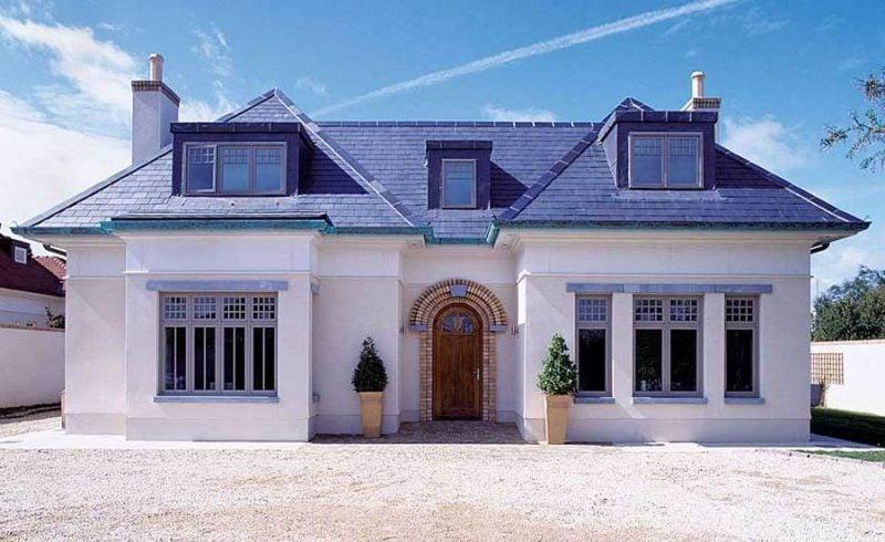 Bungalow Farben einen schicken bungalow bauen klassiker im trend architektur