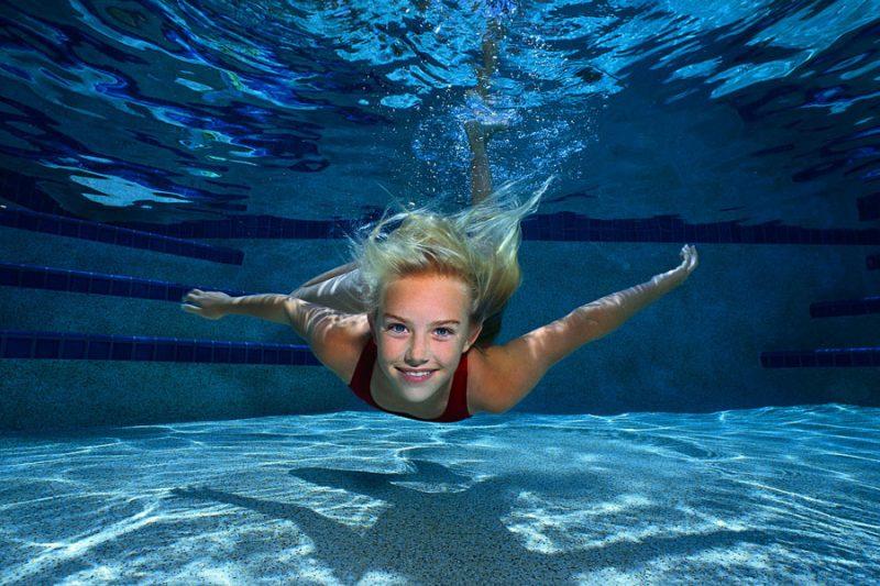 Schwimmen Sie sich fit!