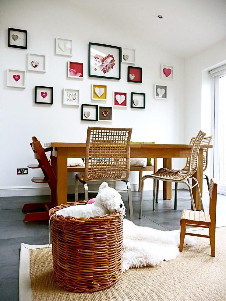Herz-Motive bei der Wandgestaltung zum Valentinstag!