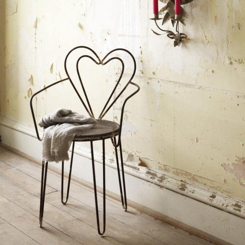 Einzigartiger Herz-Stuhl!