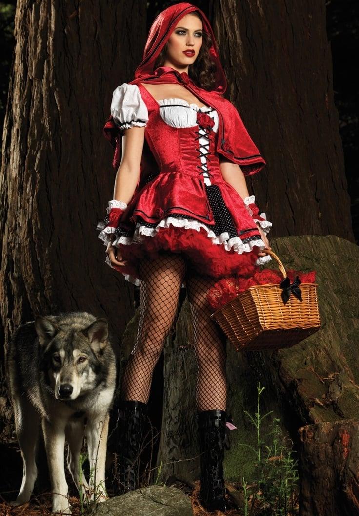 Fasching Verkleidung: Sexy fasching kostüm: Rotkäppchen: altweiber kostüm