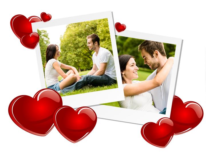 Liebes-Collage zum Valentinstag!