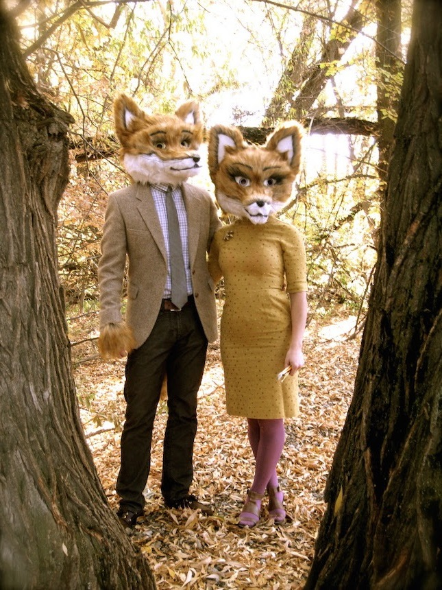 Fuchs Kostüme für zwei coole fasching verkleidung ideen karneval