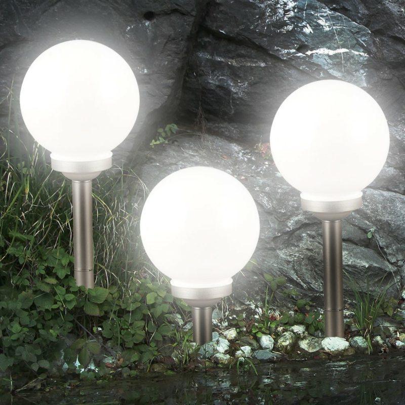 Gartengestaltung Ideen Beleuctung Solarlampen