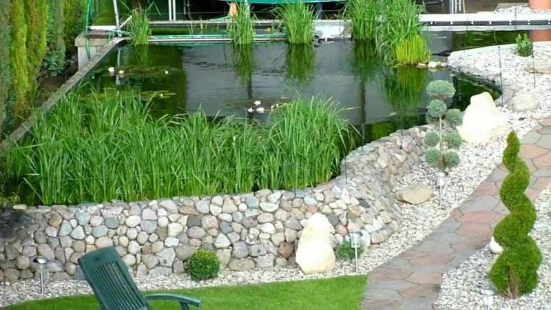 Gartengestaltung Ideen dekorativer Teich