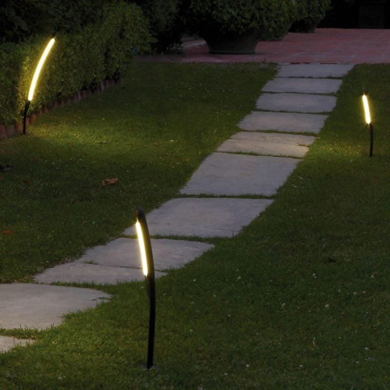 Gartengestaltung Ideen Gartenweg Pflastersteine