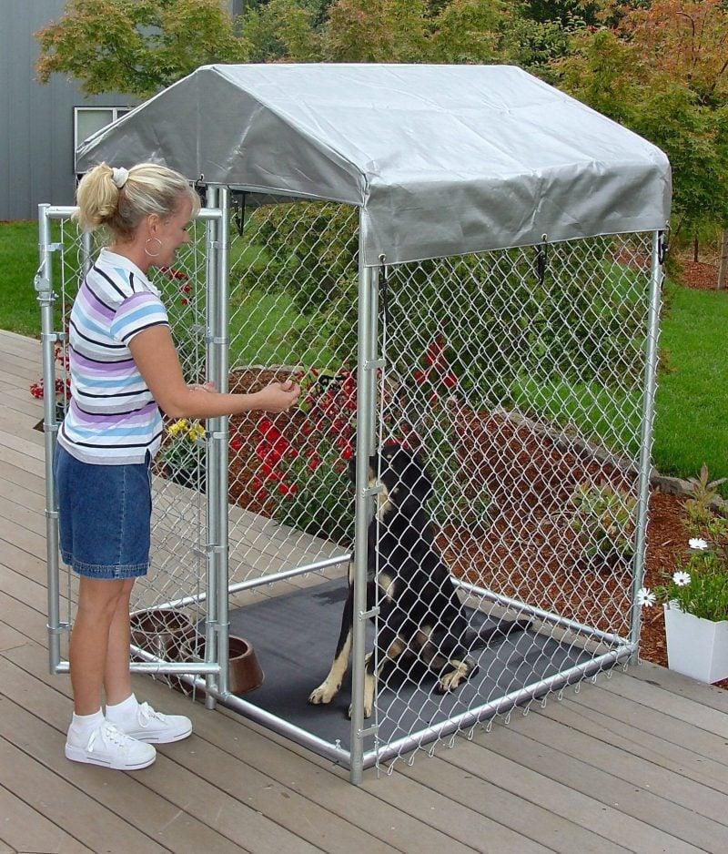 Geld sparen: Hundezwinger selber bauen!