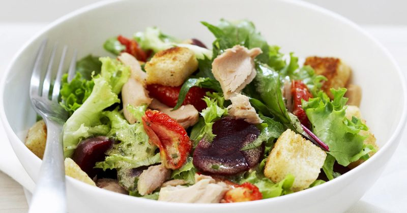 Grüne Salate als Käsefondue Beilagen!