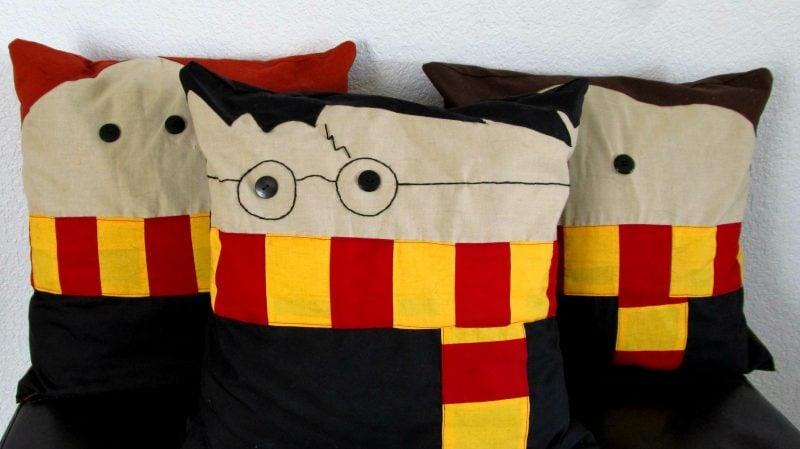 Kissen nähen Harry Potter