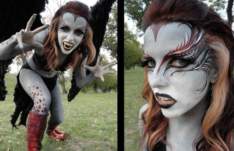 Halloween Kostüme Frauen Harpyie