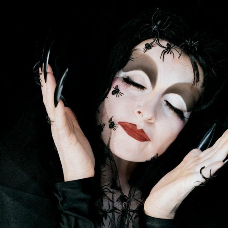 Kostüme zu Halloween Frauen klassisch Hexe