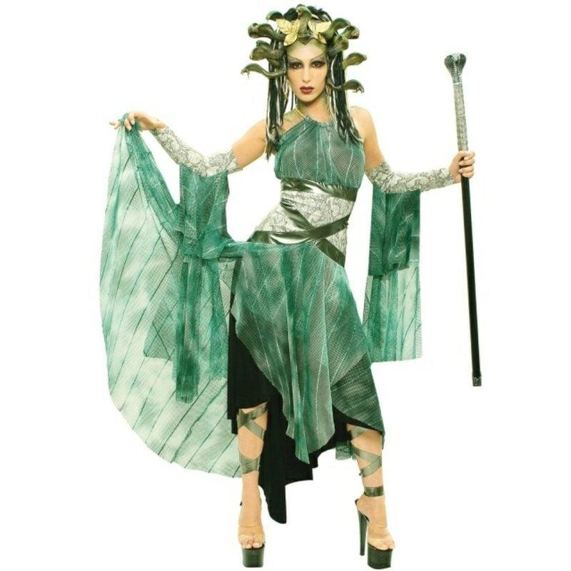 Halloween Kostüme griechische Mythologie Medusa