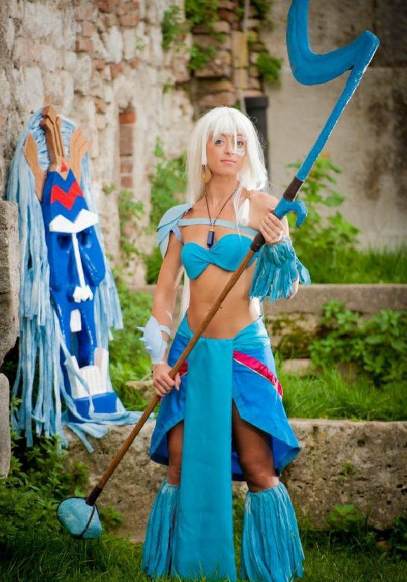Halloween Kostüme Frauen Mythologie Atlantis