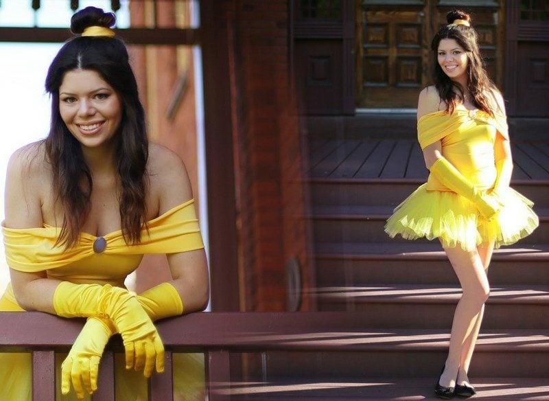 Halloween Kostüme Frauen Prinzessin Belle
