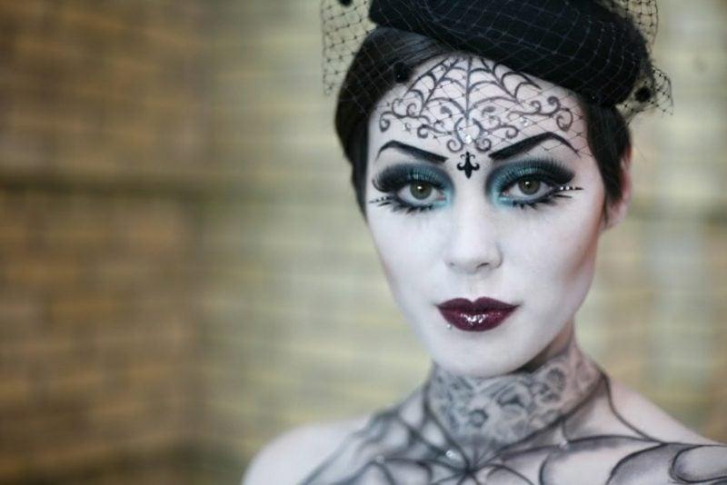 Halloween Kostüme Hexe herrlicher Look